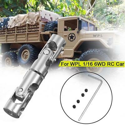 Upgrade Parts Metal Drive Shaft For WPL 1/16 6WD Military Truck RC Car Crawler