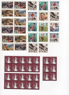 35 Cent Postage Stamp Combos Enough to Mail 26 Postcards - Face Value $9.10