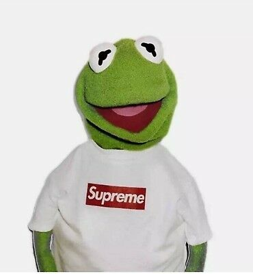 SUPREME Kermit The Frog A1 Large gloss poster