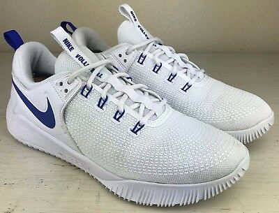 Nike Zoom Hyperace 2 Womens Aa0286 104 White Blue Volleyball Shoes