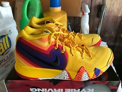 the latest 33596 6c828 NEW NIKE KYRIE 4 70s Size 11 basketball shoes sneakers irving 943806 700  Rare