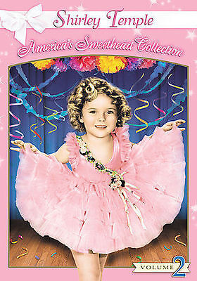 The Shirley Temple Collection - Volume 2 (DVD, 2005, 3-Disc Set, NEW (Sealed)