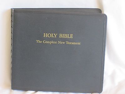 1953 AUDIO BOOK Co Holy Bible NEW & Old Testament 16 rpm