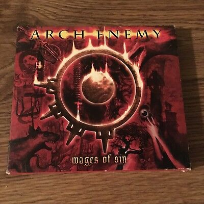 Arch Enemy + Wages Of Sin + Japan Import Cd + Slipcase + Mousepad + Lyric Sheet