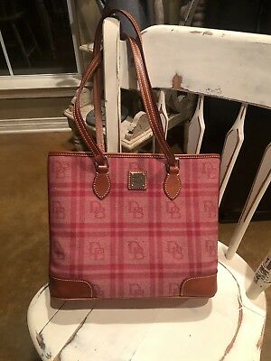 1e3eacfa0b07 DOONEY   BOURKE Tiverton Plaid Large Zip Shopper Tote -  51.00 ...