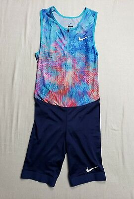 Nike Pro Elite 2017 sponsored Speedsuit Size Medium Track and Field Men New c1191ad1ce556
