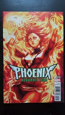 Phoenix Resurrection 1 Stanley Artgerm Lau variant NM (2018) Jean Grey flat rate