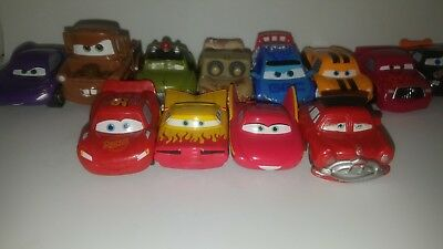 Disney Pixar Cars MINI ADVENTURES Flo Red White Without Store Package