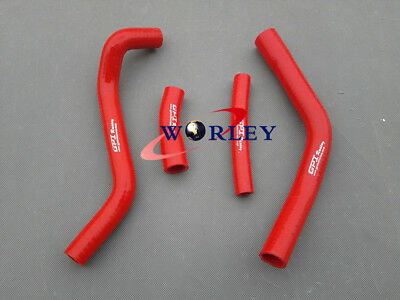 Red silicone radiator hose for YAMAHA YZ250F YZ450F 2014 2015 14 15