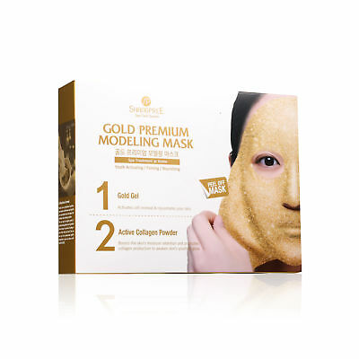 Shangpree Gold Premium Modeling Mask 10 packs for 5 Treatments Firm Anti-aging