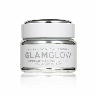 Glamglow Supermud Clearing Treatment 50g  Deep Cleansing Pore Mask Wash off Mask