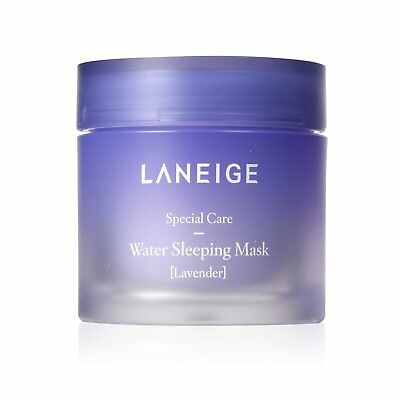 Laneige Water Sleeping Mask Lavender 70ml Korean Moisturized Overnight Gel Mask