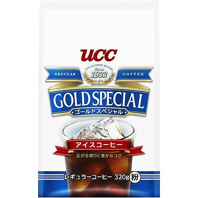 UCC GOLD special ice coffee AP 320g From Japan