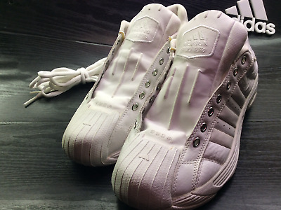 19c6bac3e5c ADIDAS SUPERSTAR 2G White Size 11.5 Men s Basketball Sneakers SS ...