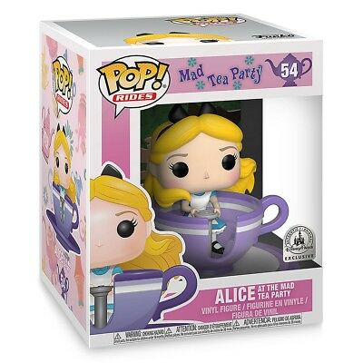 Funko Pop! Rides #54 Alice at the Mad Tea Party Disney Parks exclusive vinyl fig