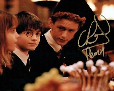 Chris RANKIN SIGNED Autograph Percy WEASLEY Harry POTTER 10x8 Photo AFTAL COA