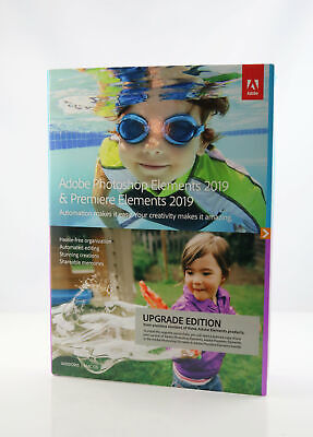 Adobe Photoshop Elements 2019 & Premiere Elements 2019 | Upgrade - Englisch