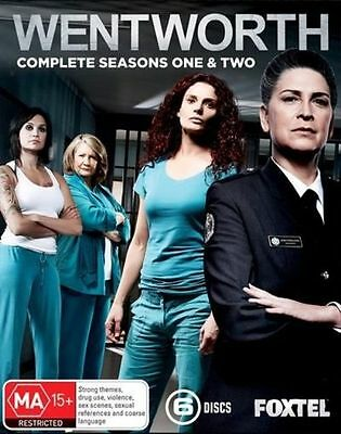 Wentworth: Season 1 and 2 Boxset (6 Disc) very good condition dvd