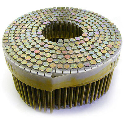 Box Of 5850 Coil Collated Nails - Galvanized Ring Shank 75mm x 2.7