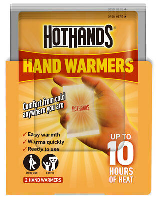 Hot Hands Hand Body Warmers - Keep Warm / Hot This Winter - 10 Hours of Heat New