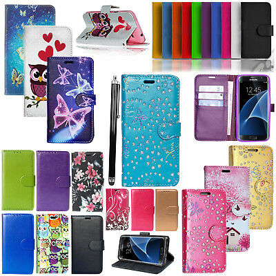 For Samsung Galaxy J7 Prime 2 Wallet PU Leather Stand Magnetic Flip Cover Case