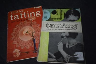 Vintage TATTING Booklets by Coats Sewing Group