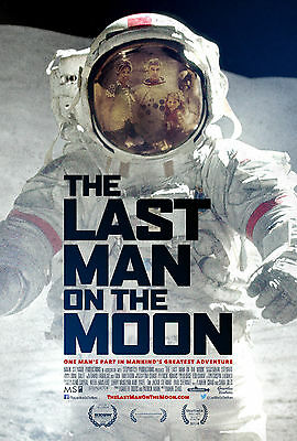 Framed Movie Print - the Last Man on the Moon (Picture Film Poster Planet Art)