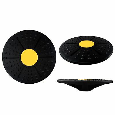 Non Slip Balance Board Exercise Core Strength Wobble Board Abs Workout Fitness
