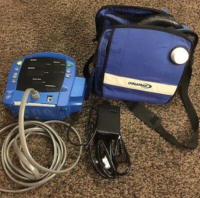 GE Dinamap ProCare 200 Patient Monitor + BP hose + Carry Case + Power Cord