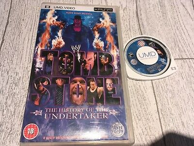 WWE - Tomb Stone - The History Of The Undertaker for UMD, 2005, Sony PSP