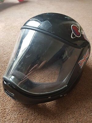 Skydiving Skydive skysystems Oxygn A3 Full Face Helmet Black