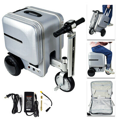 29.3L Airwheel SE3 Electric PC Suitcase Scooter Travel Carry Luggage Business US