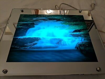 Moving Waterfall Lighted Motion Picture With Sound New 7499