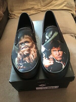 09b5fba1dc Star Wars Sperry Top Slider Hans Solo   Chewbacca Mens Size 9.5 Slip-on  Shoes