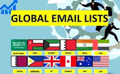world wide email lists, Email leads, business emails