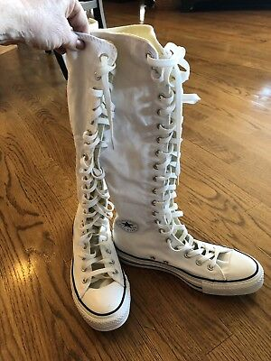 4e89902de0e8 NWOB Converse Chuck Taylor All Star XX Hi Women s Lace Up Zip Up Sneakers  Size 9