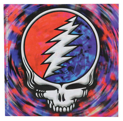 """Grateful Dead Steal Your Face Spin Sticker - 4""""x4"""""""
