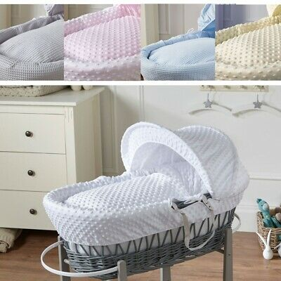 Luxury Wicker Moses Basket Inc Mattress