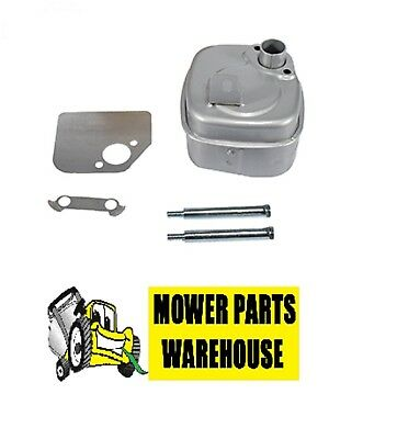 Lock Plate Briggs /& Stratton 391313  392304 Replacement Muffler With Bolts