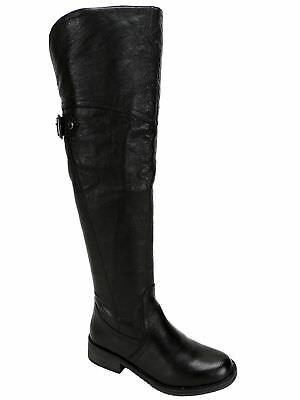 316801405db Steve Madden Women s OTK Boots Black Leather Over-The-Knee Boot Size 5 1