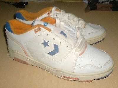 f693c4e49952 vintage shoes cons converse 1980 knicks low top - size 8.5 usa old school  new