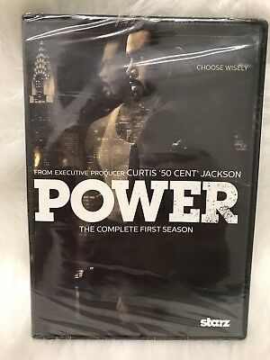 Starz: Power: The Complete First Season 1 (DVD, 2015, 2-Disc Set)