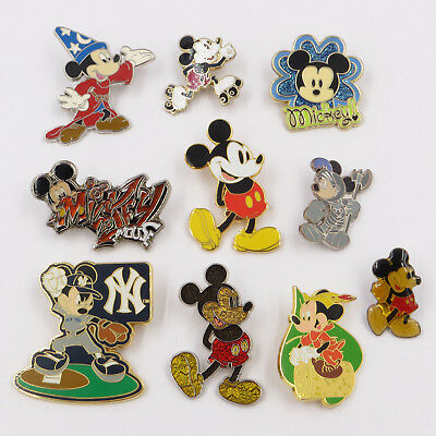 Disney Parks Disneyland LOT C Misc Mickey Mouse Pin Trading Lot of 10