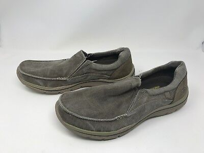 good quality official store cozy fresh MENS SKECHERS (64109) RELAXED FIT EXPECTED AVILLO Khaki ...
