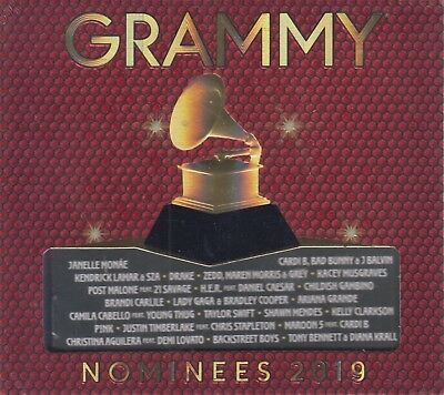 Grammy Nominees 2019 CD Various Artist 602577275555 - NOW SHIPPING!