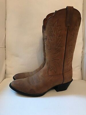 1693258b993 ARIAT WOMENS HERITAGE R Toe Cowboy Western Boot 7 B Brown 10001021 15725