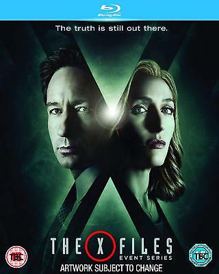The X-Files - Event Series (Blu-ray, 2 Discs, Region Free) *BRAND NEW/SEALED*