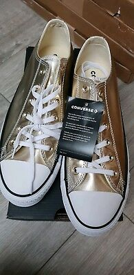 Sneakers Ox Dorées Basses All Star Baskets Chaussures Converse b7ygvYf6