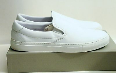 e14871ae638 DIEMME GARDA SLIP Ons EU 45 US 12 White Leather Shoes  500 Common Projects  New