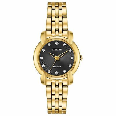Citizen EM0712-59E Women's Jolie Black Eco-Drive Watch